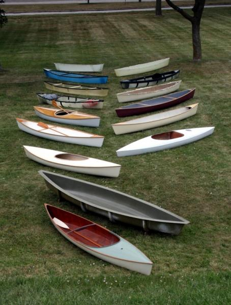 Gougeon 12.3 canoes