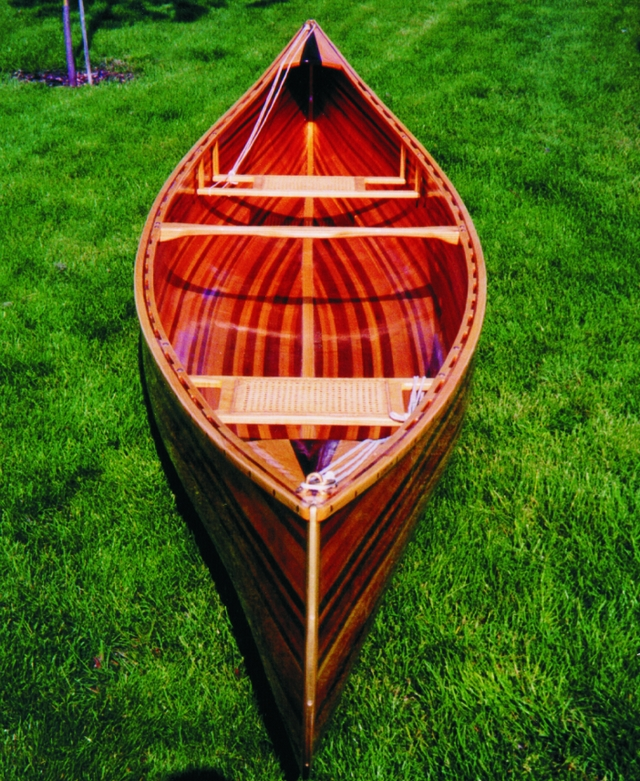 16' strip canoe