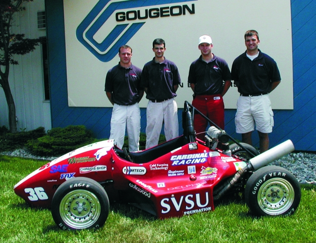 SVSU's SAE Vehicle