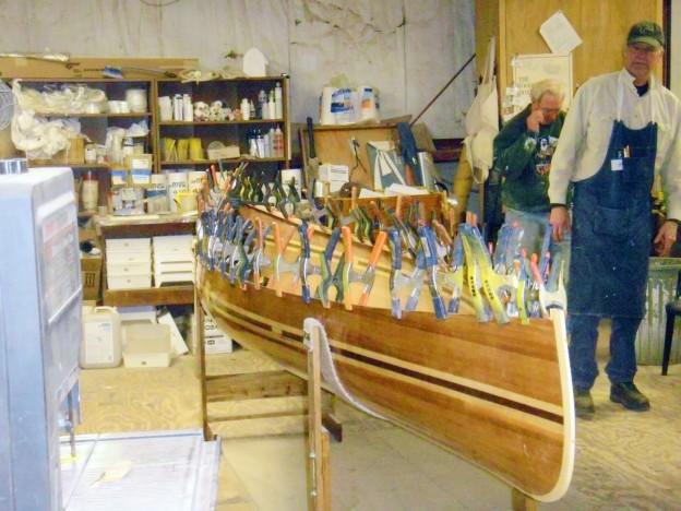 Strip Plank Canoe -SBCSA