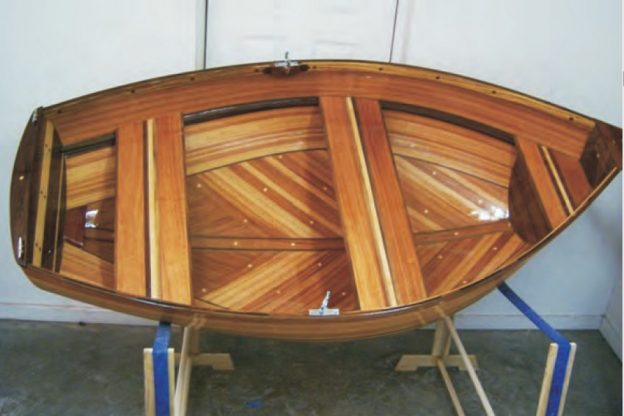 strip planked dinghy