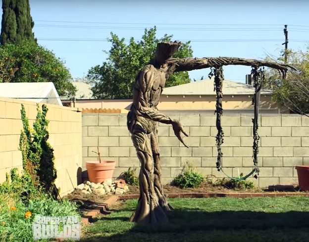 Groot swing of epoxy and fiberglass