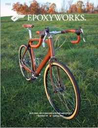 Cover Photo: Wooden Bicycle designed and built by Aaron Holmes