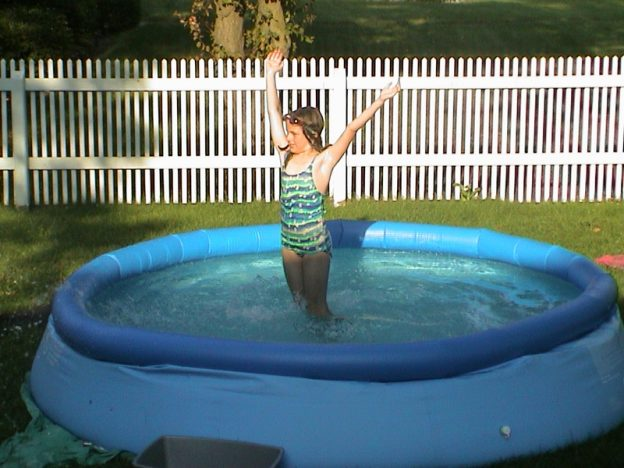 epoxy fence pool