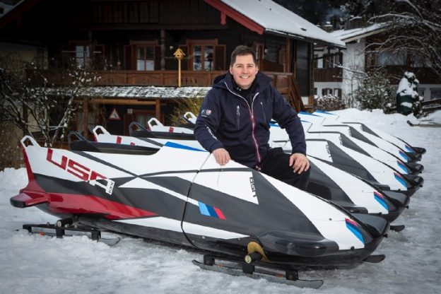 USA Bobsled Team repairs their sleds with WEST SYSTEM