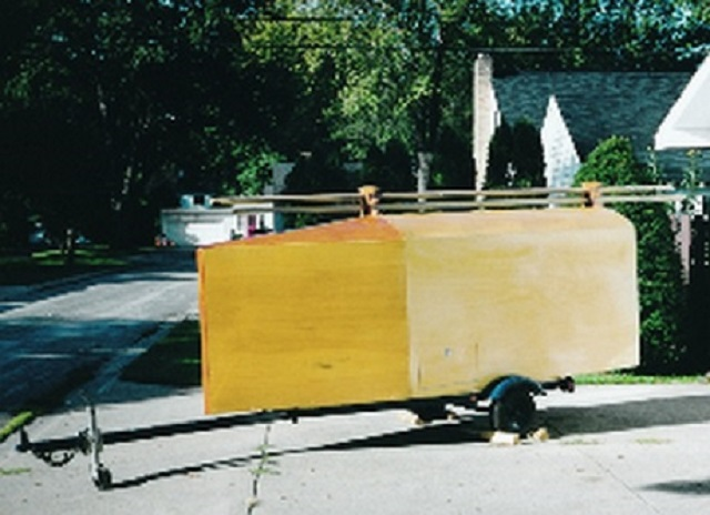 DN iceboat trailer