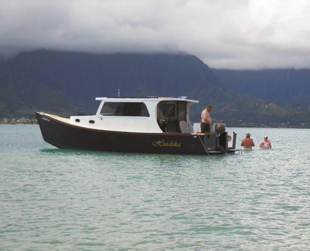 Huialoha, a lobster boat