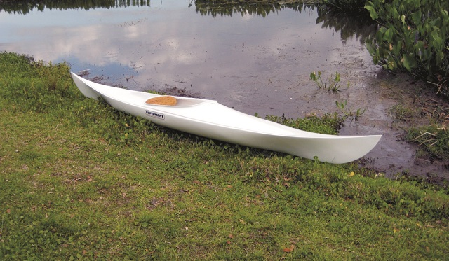 Superlight Cutter Kayak built with WEST SYSTEM Epoxy