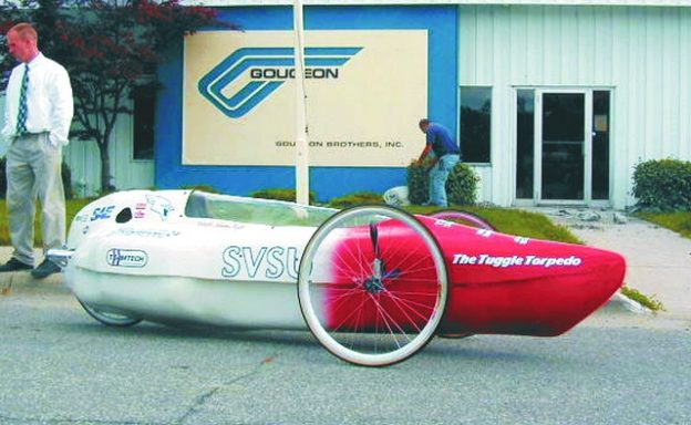 SAE Supermileage vehicle