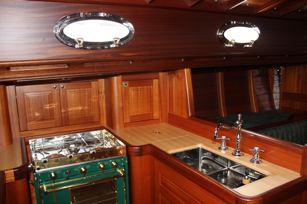 The galley on ITALMAS