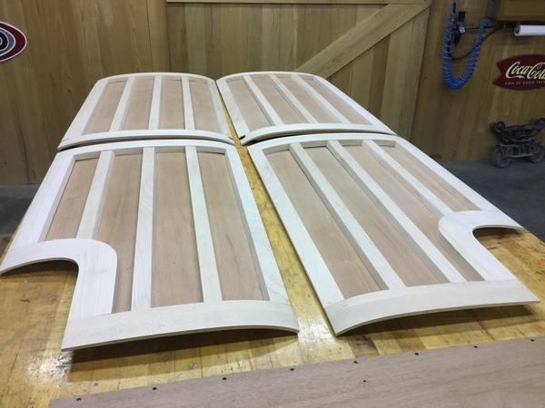 Packard woody wagon panels