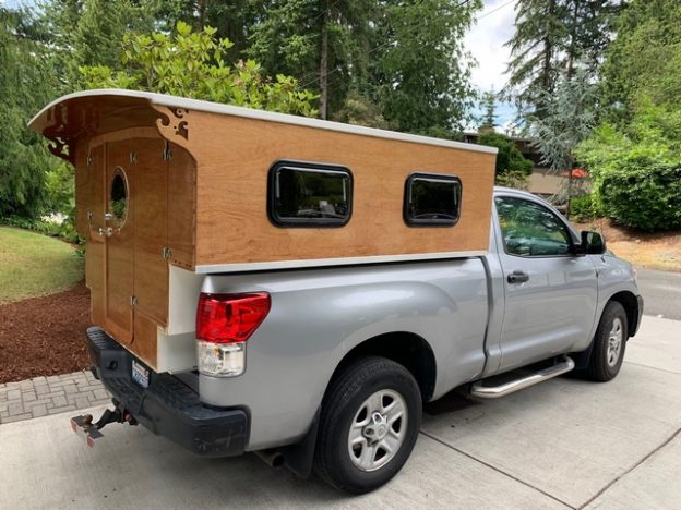 Plywood camper