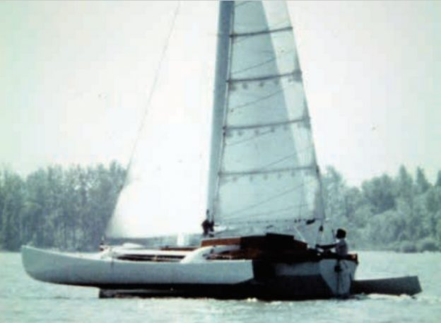 Jan Gougeon Survived FLICKA's capsize in the Atlantic Ocean in 1979.