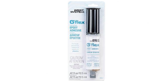 G/flex 655-1 Epoxy in a dual syringe
